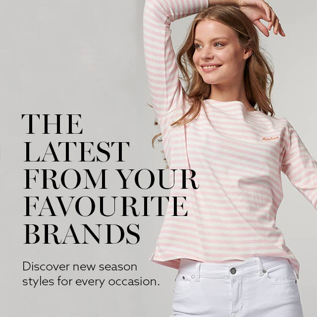 The latest from your favourite brands